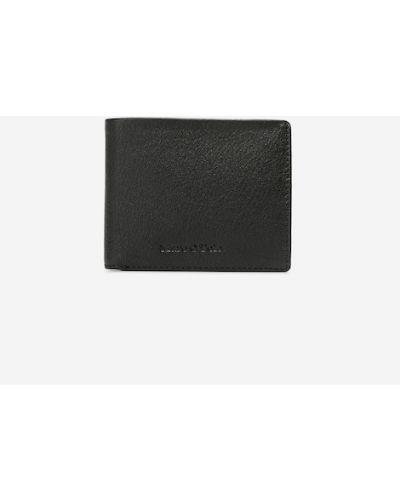Czarny portfel skórzany Marc O Polo