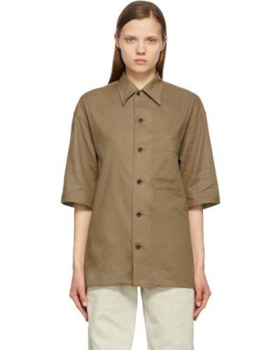 Koszula krótki rękaw bawełniana Lemaire
