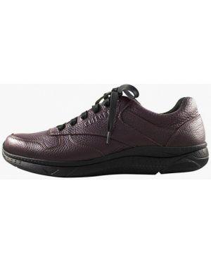 Кожаные кроссовки - красные Cliford