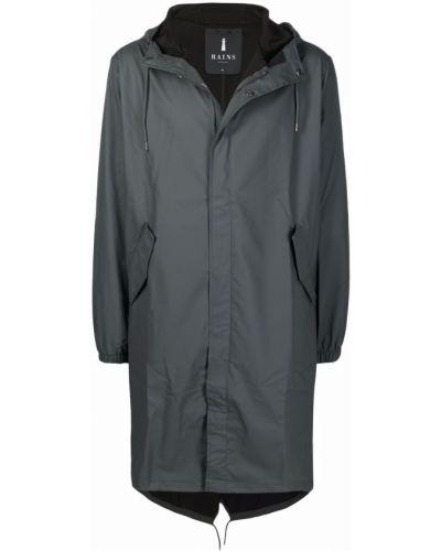 Długi płaszcz z kapturem Rains