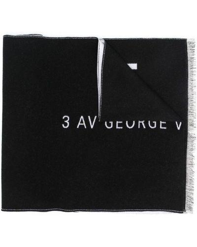 Biały szalik wełniany Givenchy