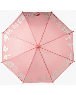 Зонт розовый Flioraj