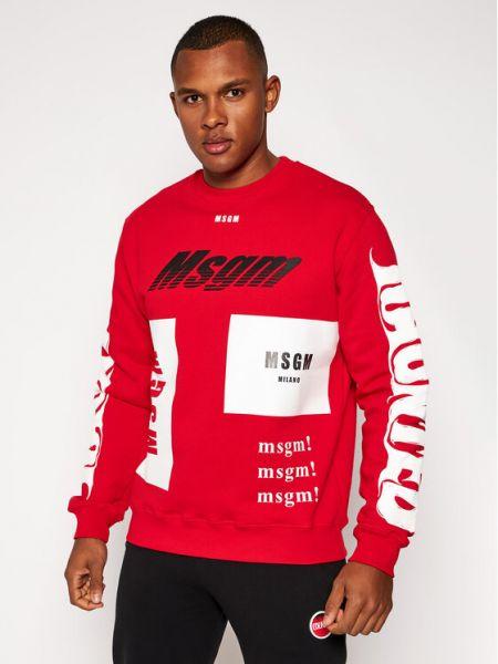 Czerwony dres Msgm