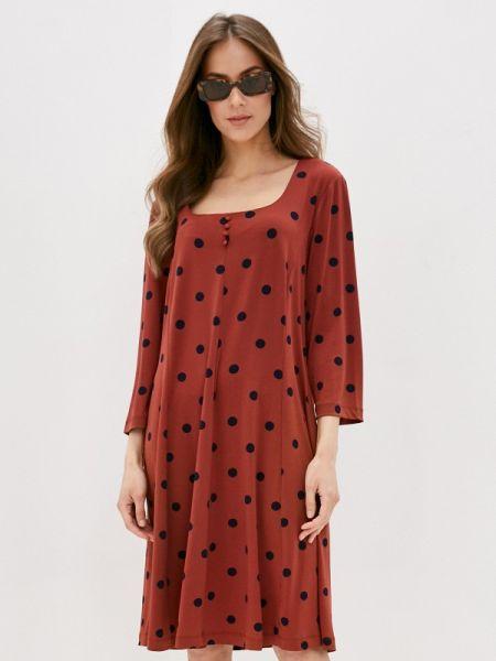 Коричневое платье Ovs