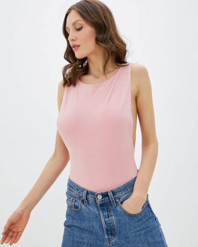 Брендовый розовый топ Lipinskaya Brand