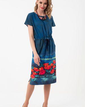 Летнее платье с цветочным принтом платье-сарафан Wisell