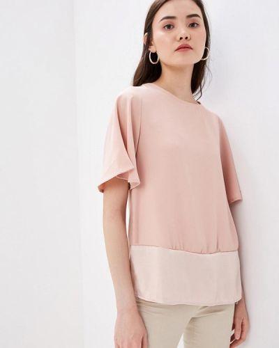 Блузка с коротким рукавом розовая турецкий Lc Waikiki