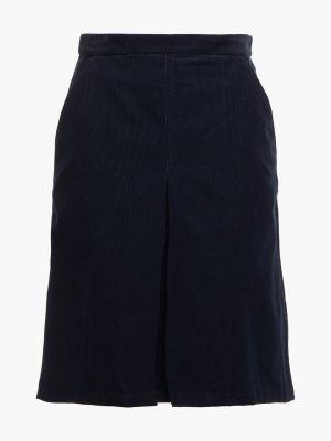 Плиссированная юбка - синяя A.p.c.