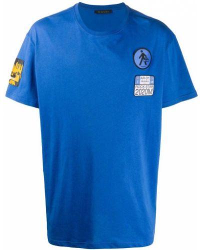 Niebieska koszulka oversize Mr&mrs Italy