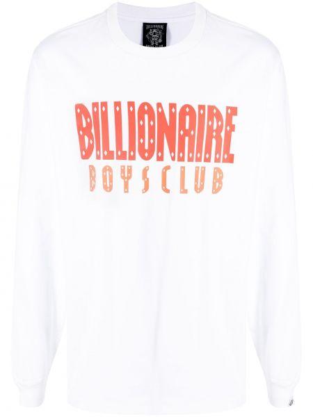 Белый хлопковый топ Billionaire Boys Club