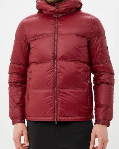 Зимняя куртка осенняя бордовый Ea7