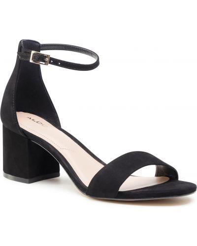 Czarne sandały casual Aldo