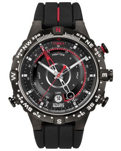 Zegarek kwarcowy - czarny Timex