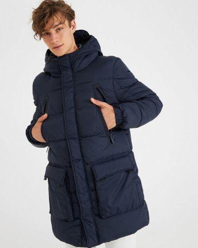 Утепленная куртка - синяя Terranova