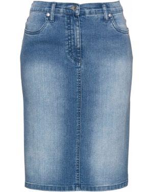 Юбка мини джинсовая Bonprix