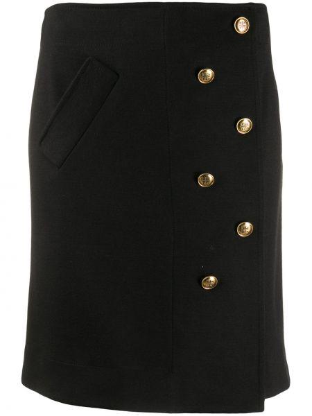 Юбка мини на пуговицах на молнии Givenchy