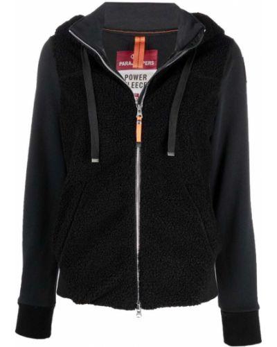 Флисовая куртка - черная Parajumpers