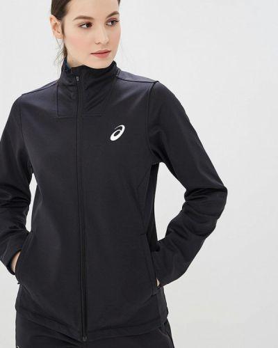 Спортивная куртка черная весенняя Asics