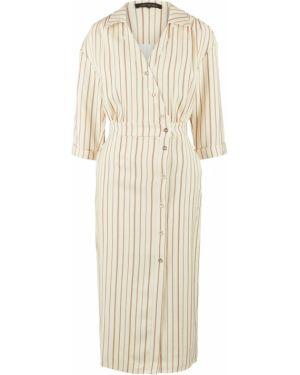Платье из вискозы с рукавами Love Republic