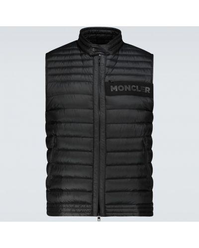 Czarna kamizelka Moncler