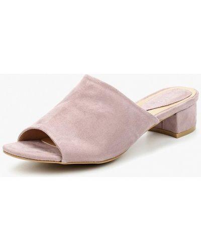 Сабо замшевые фиолетовый Sweet Shoes