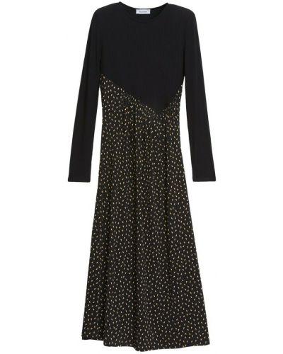 Czarna sukienka Rodebjer