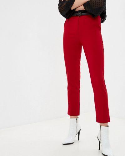 Красные повседневные брюки Tantra