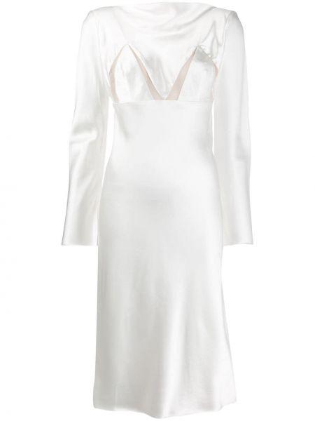 Платье макси со вставками ампир Bevza
