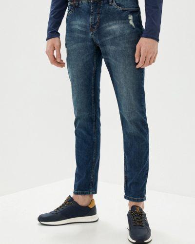 Синие прямые джинсы Sublevel