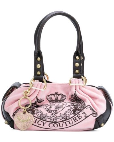 Сумка-тоут розовый Juicy Couture
