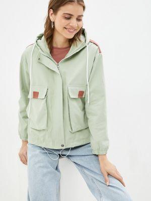 Облегченная зеленая куртка Grafinia