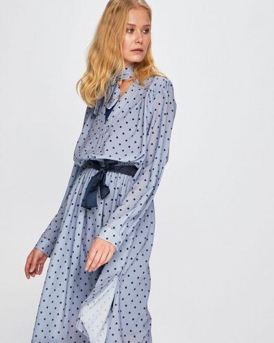 Платье миди расклешенное с V-образным вырезом Silvian Heach
