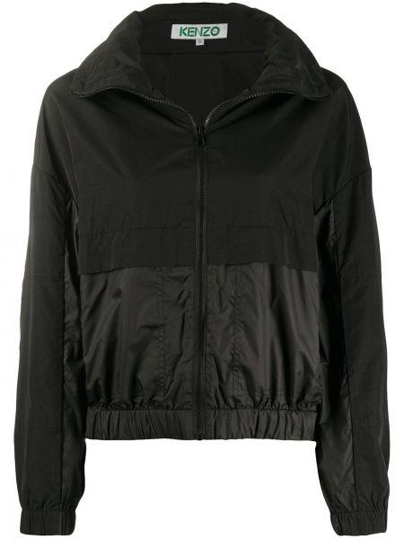 Куртка с капюшоном на резинке комбинированный Kenzo