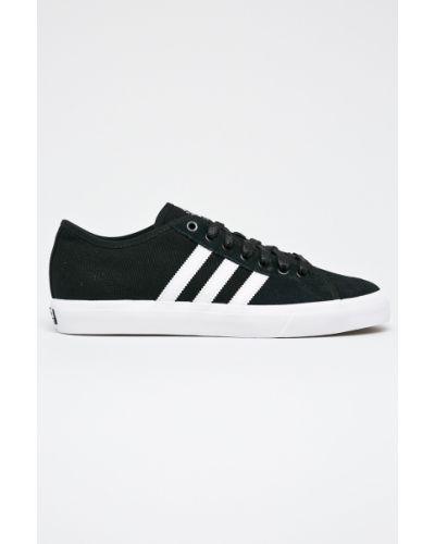 Черные низкие кеды Adidas Performance