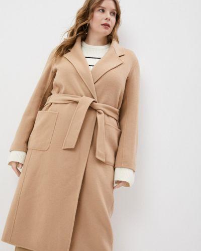 Бежевое пальто Gerard Darel