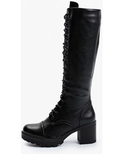 Черные сапоги из искусственного меха Sweet Shoes