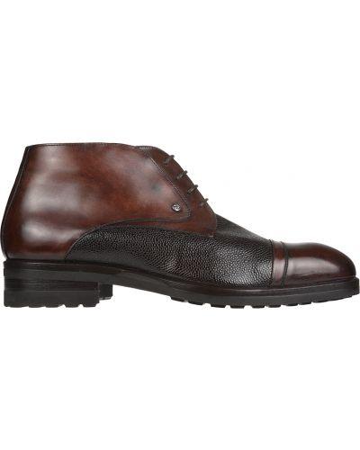 Кожаные ботинки - коричневые Mario Bruni