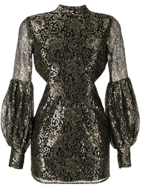 Платье со вставками черное Alice Mccall