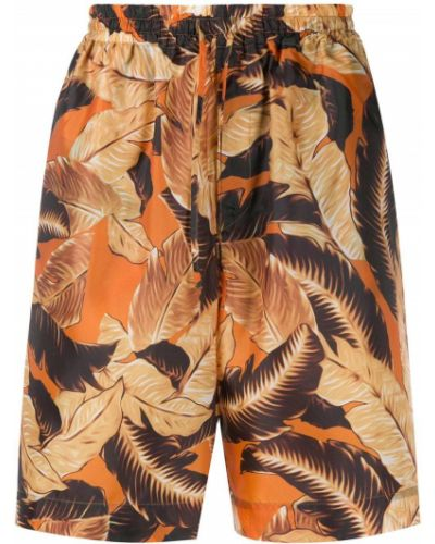 Оранжевые шорты с карманами Cmmn Swdn