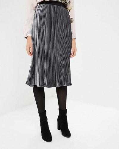 Плиссированная юбка серая Gerry Weber