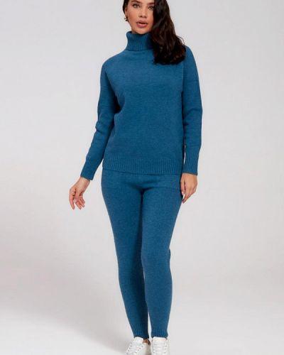 Вязаный костюм - синий Marco Bonne