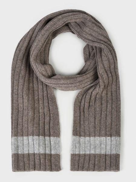 Кашемировый шарф - коричневый Barba Napoli