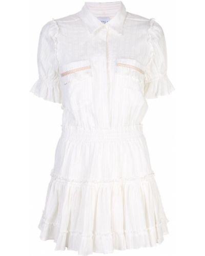 Платье в полоску на пуговицах Misa Los Angeles