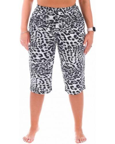 Серые шорты леопардовые инсантрик