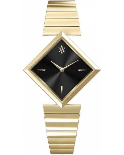 Кварцевые часы - черные Vanna