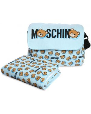 Plecak z logo Moschino