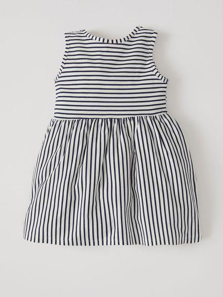 Хлопковое платье - белое Defacto