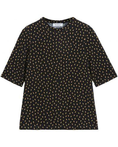 Czarna koszulka Rodebjer