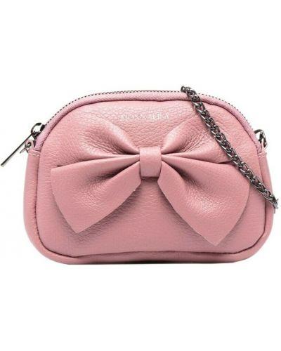 Różowa torebka Monnalisa