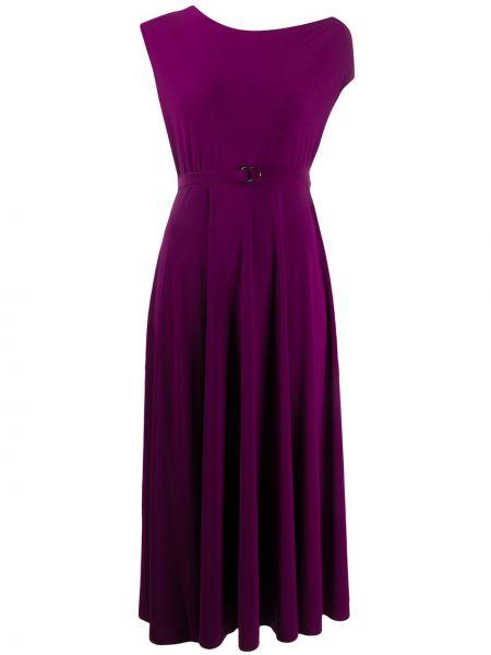 Платье мини миди с поясом Norma Kamali